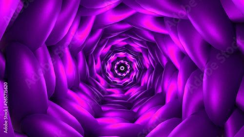 Dmt concept vortex looking down the barrel of a surreal