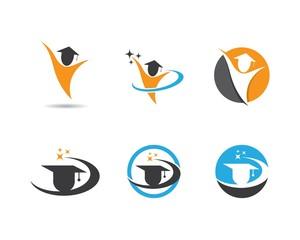 Education symbol vector icon illustration
