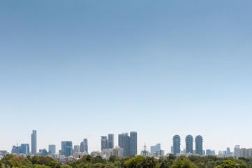 Poster Tokyo Israel, Tel Aviv, cityscape