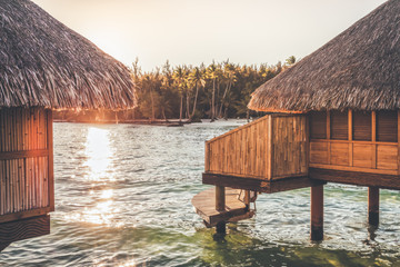 Overwater Bungalow in Tropical Paradise