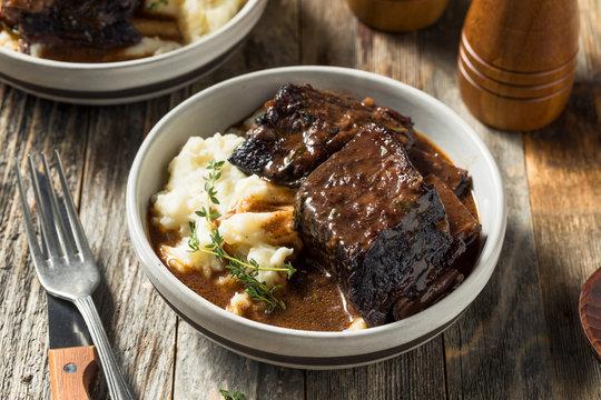 Homemade Braised Beef Short Ribs