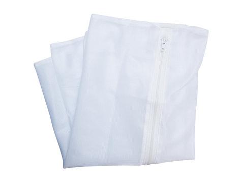 Washing bag isolated on white background