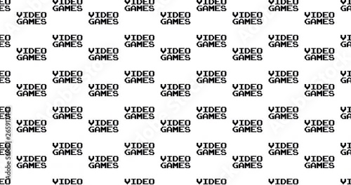 Video games text words background clip motion backdrop video