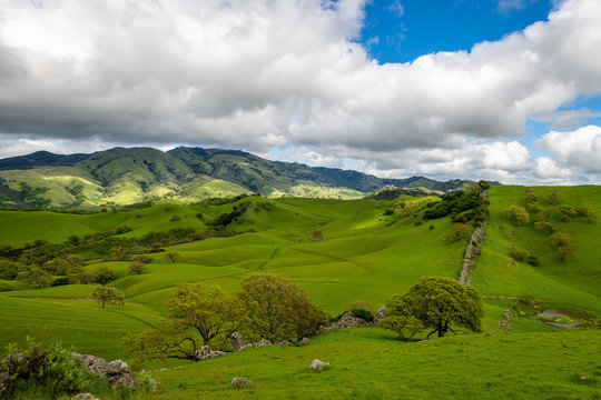 Mount Diablo and the China Wall
