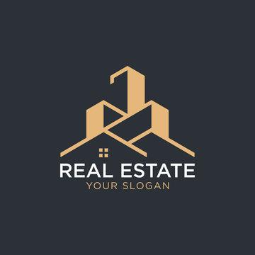 Real Estate Logo - Vector logo template