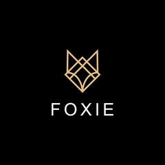 fox head illustration vector logo design
