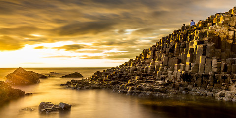 Photo sur Aluminium Miel Giant's Causeway