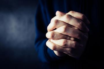 Fototapeta Christian Faith Towards God Concept obraz
