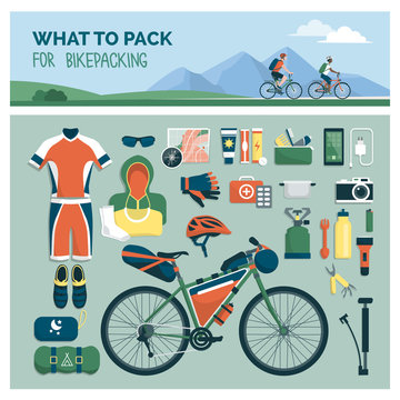 What to pack for bikepacking