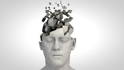 Alzheimer's disease or memory loss Wall mural