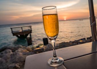 Peach Bellini   Views around the small Caribbean Island of Curacao