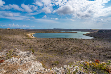 Views around the small Caribbean Island of Curacao