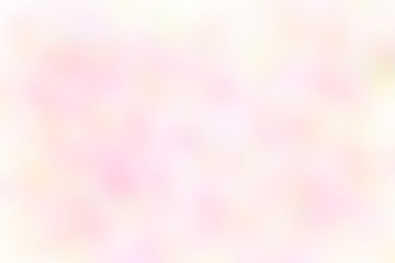 Abstract pink and yellow pastel delicate background