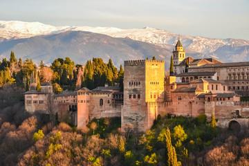 Canvas Prints Athens Alhambra, Granada, Andalusia, Spain
