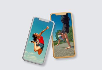 Zwei Handy