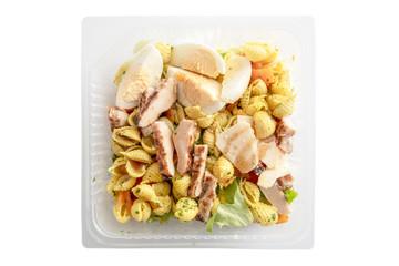 plat préparé salade