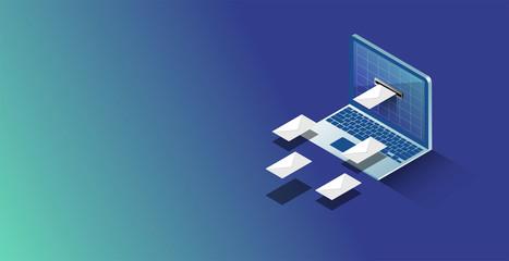 posta, posta elettronica, provider, hosting, email,  Fotomurales