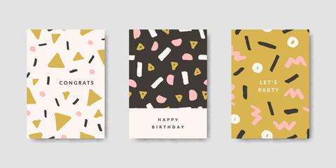 Modern Abstract Design Card Templates