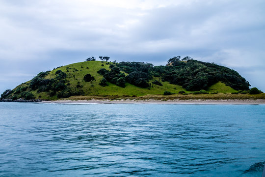 Views from a cruise around the bay. Bay of Islands, New Zealand