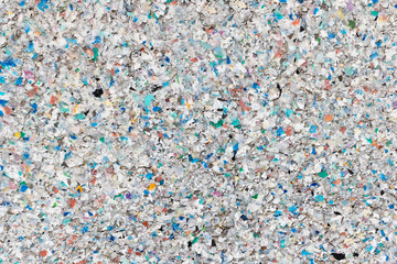 Recycling Plastik Hintergrund