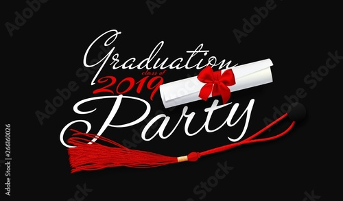 Graduation party  Lettering for graduation class of 2019