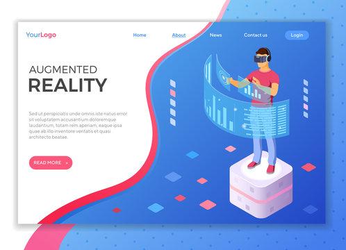 Isometric Virtual Augmented Reality
