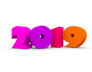 2019 TEXT IN 3D