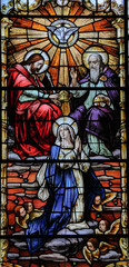 Coronation of the Virgin, quebec cathedral