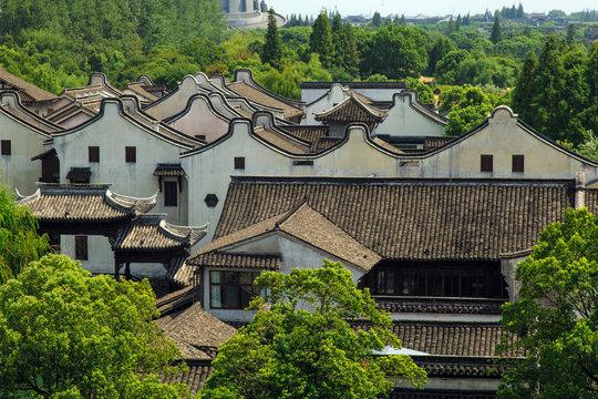 Wuzhen scenic spot in zhejiang province