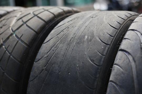 Hard used tires