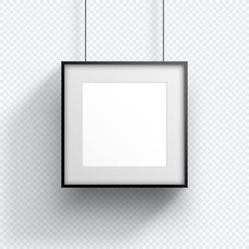 Photo Frame Single Hanging Down Square Design