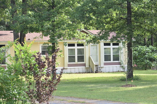 Manufactured Home Sitting on one Acre