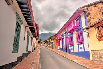 Wall Mural - Bogota, La Candelaria historical district