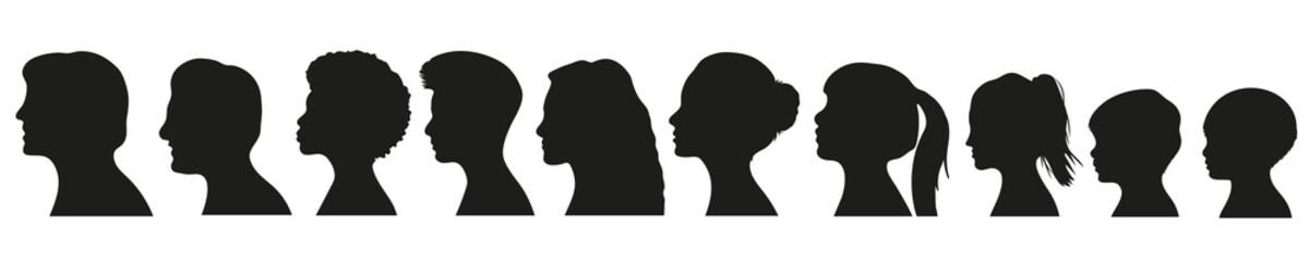 Fototapeta Frauen Generationen Set obraz