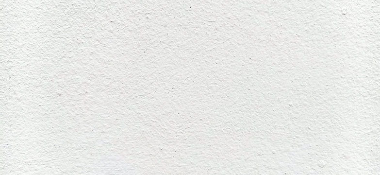 wall of white cement texture pattern background and copy space for text .