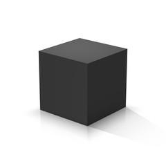 Fototapeta Black cube
