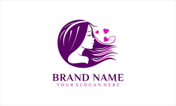 Beauty salon and spa logo