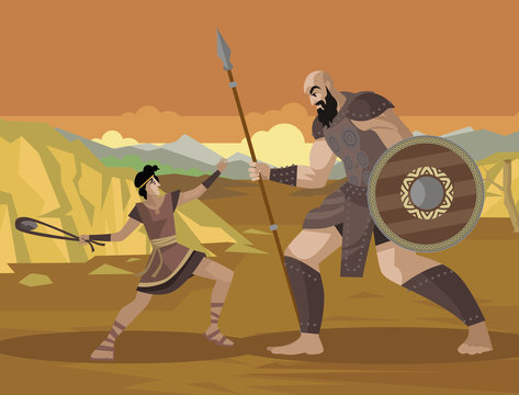 david and goliath old testament bible tale