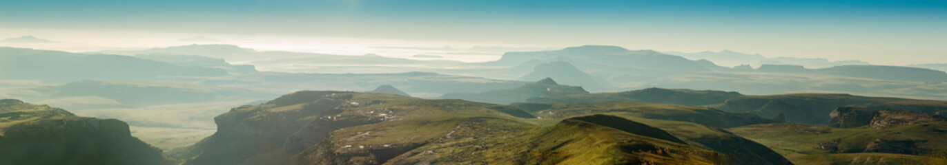 panorama of south africa landscape Wall mural