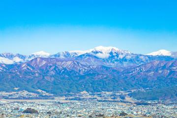 長野 冬の南アルプス