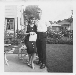 Young couple in the 1950's