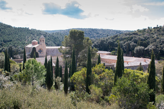 Abbaye de Fontfroide, Corbière, Aude