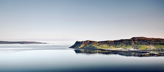 Photo sur Plexiglas Ville sur l eau A remote coastal village, Scotland, UK