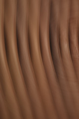 Abstract image of a stack of wood