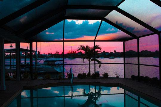 Sunset Appolo Beach Florida