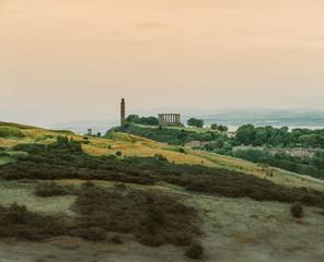 Die Akropolis von Edinburgh: Calton Hill