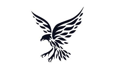 Eagle Stencil vector design illustration art
