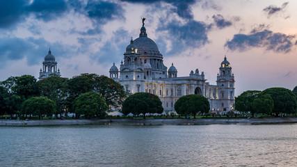 Beautiful  Victoria Memorial, Kolkata , West Bengal, India, Papier Peint