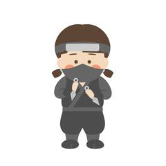 女性キャラクター忍者