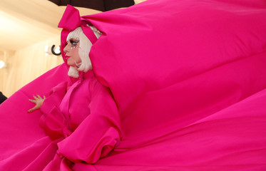 Metropolitan Museum of Art Costume Institute Gala - Met Gala-Camp: Notes on Fashion - Arrivals- New York City, U.S.